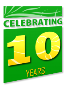 we are proud to celebrate over 10 years of sprinkler repair service